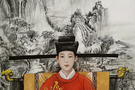 墨笔丹心,她把老师画进了大热电视剧《清平乐》里