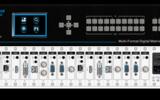 RENSTRON按键型8*8高清数字混合矩阵切换器RHS-0808按键混插单路板卡4K无缝切换