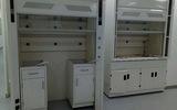 佛山廠家PP全鋼化學實驗臺通風柜 不銹鋼落地式實驗室通風廚