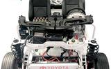 汽车教具 汽车教学实训设备 丰田卡罗拉混合动力底盘智能网联互动系统 新能源汽车实训设备