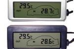 背光雙溫車載溫度計生產