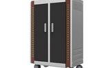 安和力移动平板充电车,电子书包充电箱,平板充电柜厂家