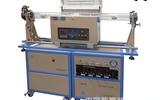 双管滑动式1200℃四通道混气CVD系统- OTF -1200X-4- C4LVS