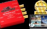DECIMATOR-QUAD 迷你3G/HD/SD-SDI Quad-Split 帶SD-SDI及復合輸出
