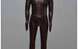 仿明代針灸銅人模型,全銅制造仿古針灸銅人模型