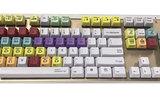 機械標準彩色鍵盤