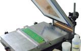手动双面线路板丝印机  PCB锡膏印刷台