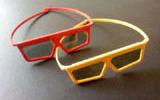 塑料立体眼镜