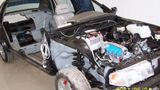 桑塔纳2000整车解剖台架