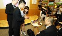 微软创新杯广州决赛 学生创意拆解社会难题
