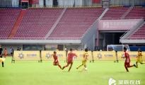 长沙首届国际友好城市青少年足球赛开赛
