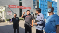 """景德镇学院马克思主义学院教师赴城西供电中心开展""""一线课堂""""调研活动"""