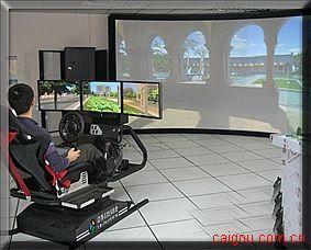 虛擬汽車駕駛系統