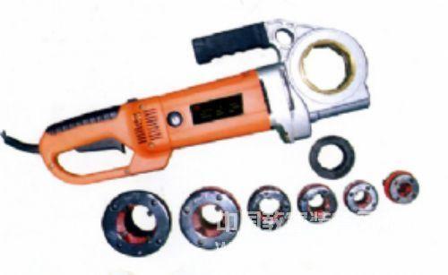 1寸手持式水管套丝机,便携式电动套丝机,SQ-1手持式电动套丝机