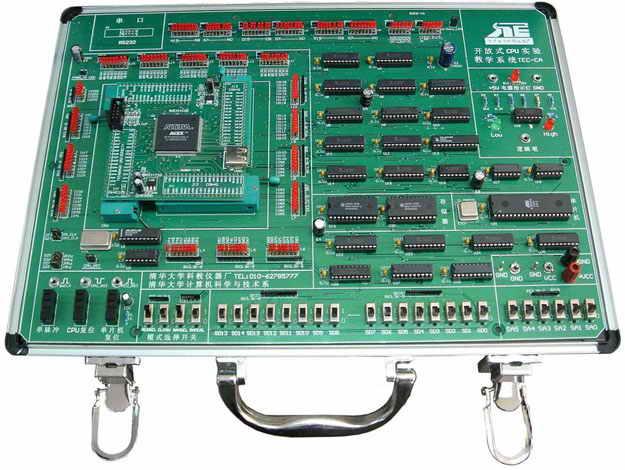 算术逻辑部件,指令译码器,存储器部件, cpu调试,微程序控制器.
