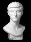 石膏像罗马青年