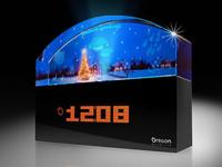 BA900XH圣诞水晶幻彩天气预报仪 (欧西亚)