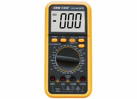 數字萬用表VC9808+