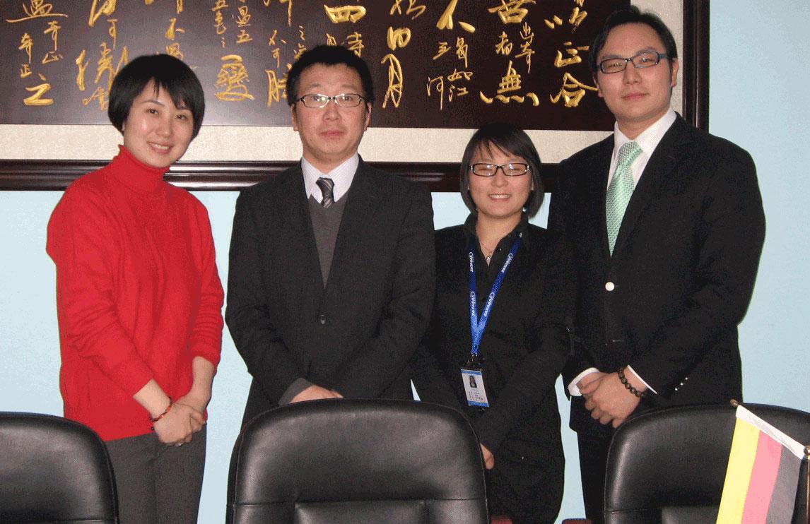 日电产新宝Otoharu Tomita先生一行到访北京泰亚赛福