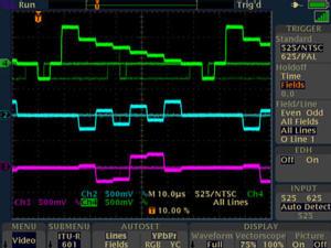 数字荧光示波器