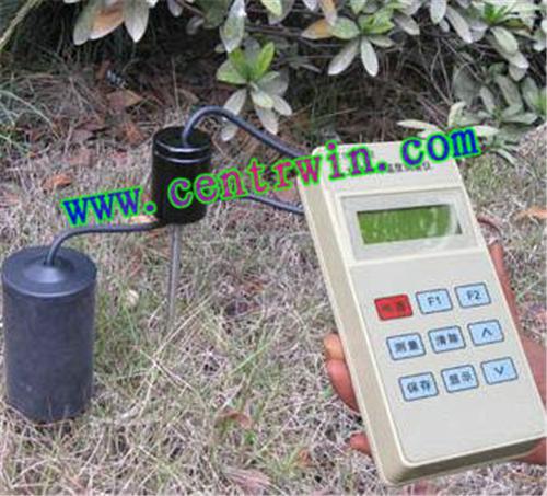 土壤温湿度记录仪/土壤墒情记录仪/便携式土壤多参数速测仪 型号:HK-ZYTZS-5X