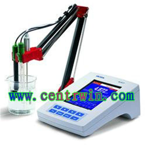 超大彩屏高精度酸度测定仪/ORP测定仪/pH测定仪/温度测定仪 意大利 型号:CEN-HI4221C