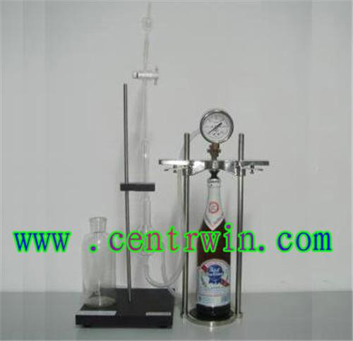 啤酒饮料二氧化碳测定仪/二氧化碳压力测定仪 型号:ZJYKZJ-5001
