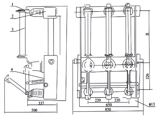 高压负荷开关 负荷开关 型号:FN3-10/400A
