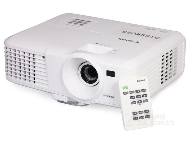 佳能投影机 高清商务投影机 佳能家用投影机 佳能LV-WX300 现货