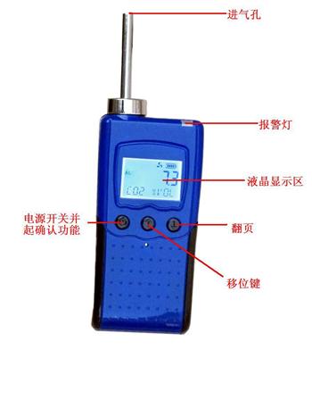便携式氢气检测报警仪