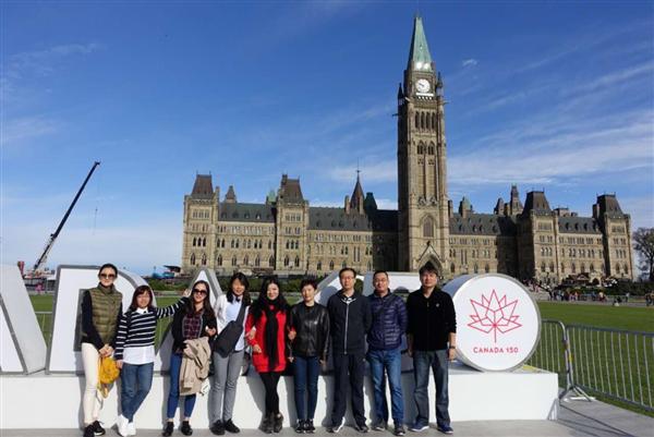 迪马科技25周年庆 加拿大精彩之旅