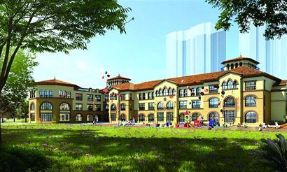 中央商务区要建幼儿园